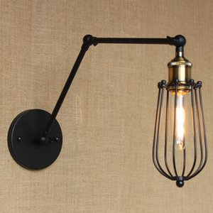 Lampada da parete vintage Industrial Country Loft Antique lights American Classic Sconce per la casa Indoor Bedside Retro economici illuminazione