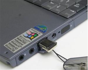 100 جهاز كمبيوتر شخصى قارئ بطاقة الذاكرة TF قارئ بطاقة USB 2.0 Tiny Micro SD قارئ بطاقة الجملة مع DHL مجانا