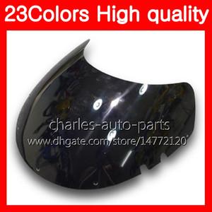100% новый мотоцикл ветровое стекло для SUZUKI RGV-250 VJ21 RGV 250 88 89 RG V250 R GV250 RGV250 1988 1989 хром Черный прозрачный дым лобовое стекло