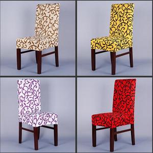 Impressão de alta Qualidade Flor Design Universal Tamanho Esticar Spandex Tampa Da Cadeira para Banquete de Casamento Hotel Casa Computador e Fontes Do Partido