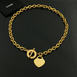 Марка 18K позолоченные нержавеющей стали Нью-Йорк женщины Ожерелье для партии и подарок круглый круг ювелирные изделия ACCESSRIES