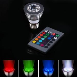 ASLT E27 LED Lâmpada e Controlador Remoto Iluminação Mágica 16 Cores 5 Modos Frete Grátis Pedido $ 18No Track