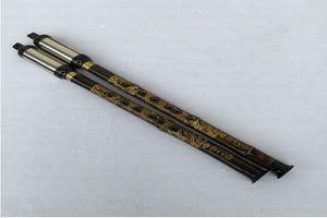 Bambou pourpre naturel Vertical Jouer Flûte Bawu F / G Légende Flauta Bawu Détachable Bau Dragon Chinois Flûte Folk Instrument Bawu