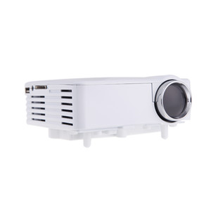 New!! Portable LED Video TV Beamer Projector for Home Theater Cinema Multimedia Player with HDMI  AV VGA SD USB Black White