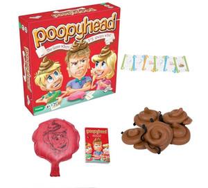بطاقة جديدة لعبة Poopyhead Board لعبة الوالدين والطفل الأدوات التفاعلية عائلة حزب لعبة مكافحة الإجهاد لعب 2 + لاعبين