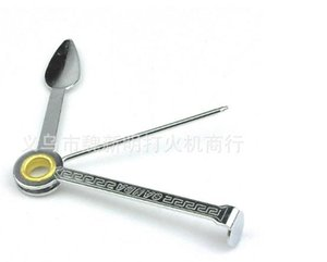 10pcs ---Pipe fittings triple cigarette knife cleaning tools