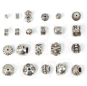 18 perles style charme pour bracelet collier bricolage bijoux à la mode Bracelet Bracelet Faire européenne Collier de cadeau de Noël