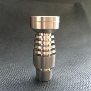 شحن مجاني T-003 Domeless Titanium Nail لكلا من أنابيب التدخين الزجاجية مقاس 14.5 ملم و 18.8 ملم