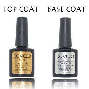 Soak off Foundation Base Base Top Casaco LED / UV Gel Nail Polonês