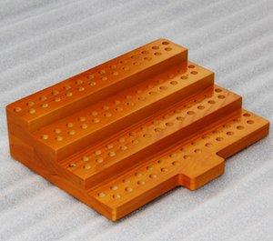 3 Styles Display in legno Standcase Scaffale per scaffali in legno per 30 ml E-Juice Bottiglie per e-liquid RDA Atomizer 510 810 Punta a goccia Boccaglio Serbatoio