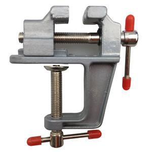 Новый алюминиевого сплава настольный вице-слесарные тиски слесарные тиски для DIY ювелирных ремесло плесень фиксированной ремонт инструмента Бесплатная доставка