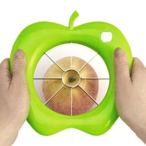 Multi-fonksiyonel Apple Kesici Tart Dilimleme Paslanmaz Çelik Meyve Mutfak Aletleri için Kolay Kesim Bıçağı