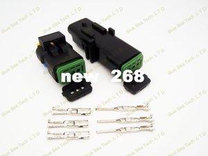 20 sets 3 Pin 1.5mm Auto senser connector,water Temp sensor plug,FCI Car Temp electrical connector for VW,BMW,Buick.