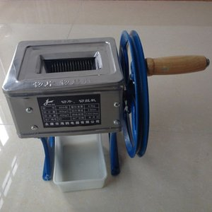 Yeni Küçük el krank kıyma makinesi dilimleyici Kesici