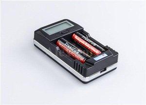 원래 신뢰 화재 TR-011 더블 충전기 trustfire LCD 디스플레이 26650 18650 18500 18350에 대 한 지능형 미국 요금 14500 전자 cig 5pcs DHL