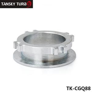 """Tansky - GT35 / GT30 2,5"""" 4-BOULON / 3"""" V-BAND TURBO FLANGE tuyaux de descente ECHAPPEMENT Adaptateur de conversion JDM TK-CGQ88"""