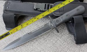 SPEDIZIONE GRATUITA EXTREMA RATIO 12''New ABS Maniglia 6 MM Lama Dagger Di Sopravvivenza Bowie Caccia Coltello VTH77