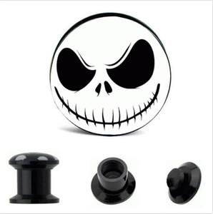 Pesadilla de acrílico Internal Thread Ear Gauge Enchufe y Túnel Expander Camilla 4-16mm Screw Fit Plug Piercing