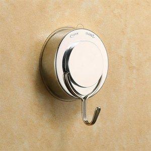 Wholesale-1pcs Home Decor rimovibile vuoto magico ABS metallo ventosa bagno muro cucina forte ventosa ganci appendiabiti accessori
