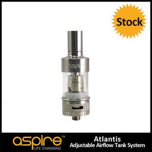 Grande promotion !!! 100% Original Aspire Atlantis Réservoir Nouvelle Technologie Cigarette Électronique Date Aspire Atlantis Tank Kit Livraison gratuite
