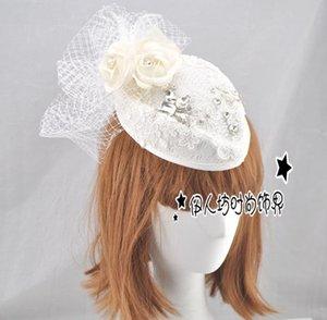 Blanc Chapeaux De Mariée Fascinators Sinamay Chapeaux Vente À La Main De Haute Qualité De Mariée Cheveux Accessoires Partie Chapeaux tocados sombreros bodas