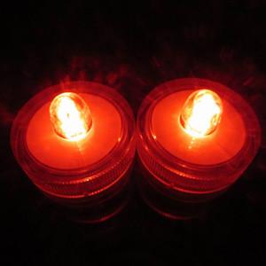 Ahorro de energía creativa LED luz de la vela de la tienda de café marrón claro a prueba de agua, regalos de cortejo de Barras de buceo electrónico luces shipp libre
