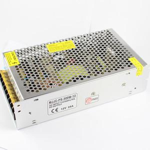 MJJC CA 110V 220V A DC 12V Transformador de fuente de alimentación 100w 120w 150w 180w 200w 240w Para luz de tira llevada