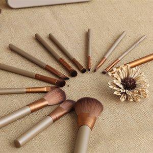 DHL free shipping Hot Sale Makeup Brushes set 12pcs Brushes set Iron Case Toiletry Makeup Tools Brushes