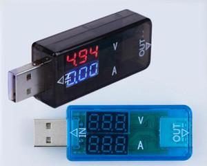 tester USB voltímetro DC Digital amperímetro indicador do carregador de corrente medidor de tensão amp volts detector amperímetro banco de potência