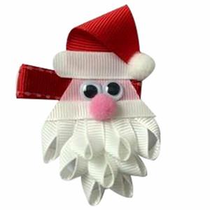 10pcs 귀여운 꽃 크리스마스 헤어 클립 만화 눈사람 이미지 머리 핀 공주 미니 드레스 헤어 그립 아이 헤어 액세서리