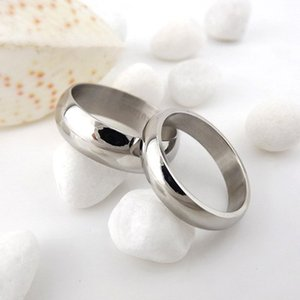 .Розничная мода пара из нержавеющей стали Реальная любовь свадьба обручальные кольца ширина кольца 6 мм Диаметр 16 мм 17 мм 18 мм 19 мм 20 мм 21 мм
