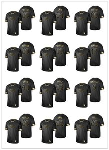 2019 Golden Edition MinnesotaTwinsMEN WOMEN YOUTH 23 Nelson Cruz 26 Max Kepler Black baseball Jersey