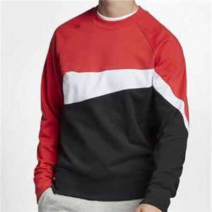 nike Designer Logo camisola Mens Marca Patchwork Big mangas compridas Pure Color Hoodies pulôver Sports Casual ativa que funciona Jogger Ginásio Moda