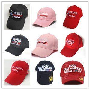Donald Trump 2020 Baseball Caps Make America Great Again Hat Embroidery Sports Ball Hat Outdoor Travel Beach Sun Hat k411