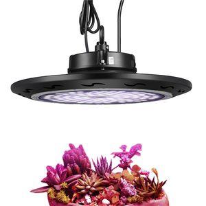 방수 1000W UFO 램프 전체 스펙트럼 1-10V 디 밍이 UFO LED는 수경 식물 심는 꽃을 홍보하는 빛 SMD3030 성장 성장