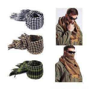 Plaza al aire libre bufandas árabes invierno de los hombres Bufanda, Sombrero guante sombreros, bufandas de la bufanda de algodón GlovesWindproof Hijab musulmán de Shemagh