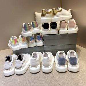 piattaforma 2020scatola di alexanderMcQueen cestini mc scarpe da ginnastica scarpe ginnastica uomini donne mqueen zapatillas Deporte shoesb casuale