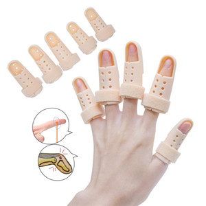 S1004 Plastic Hand Finger Splints Support Brace Mallet Splint For Broken Finger Joint Fracture Pain Protection Adjustable Hook