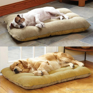 Dog home houses pet furmiture beds fully removable and washable pet mat lambskin dog mat cushion nest Golden Retriever large dog pet kennel