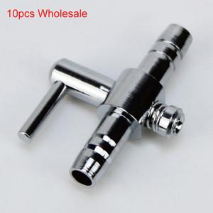 Pompe Accessori 10pcs 4mm tubo in acciaio inossidabile del carro armato della pompa di corrente d'aria del tubo linea di controllo della valvola Pompa d'aria Accessori Commercio all'ingrosso