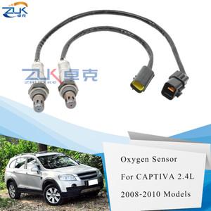 ZUK 2PCS FrontRear oxygène Capteur O2 Lambda Pour Chevrolet Captiva 2008 2009 2010 96418971 96415640 2.4L
