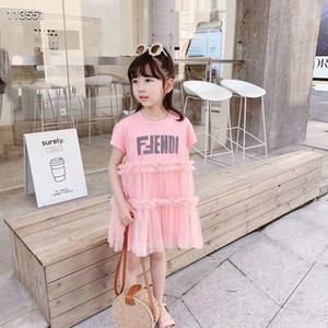 Princess Dress Bébés filles Vêtements Vêtements pour enfants Summer Party Tutu enfants Robes pour filles Livraison gratuite enfant en bas âge