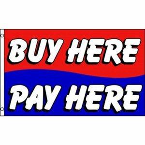 Купить здесь оплатить здесь красный синий флаг 3x5ft banner150X90CM 100D полиэстер латунные втулки пользовательский флаг, Бесплатная доставка
