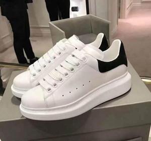Renkli Yansıma Günlük Ayakkabılar Platformu Moda Lüks Tasarımcı Kadınlar Sneakers Deri Vintage Trainer Ayakkabı espadrilles Mens