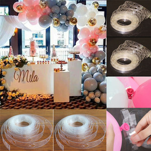 5M DIY Balloon Arch Garland Frame Kit Column Water Base Stand With Base Pole Ballons Clips Wedding Birthday Baby Shower Hen Party Decor