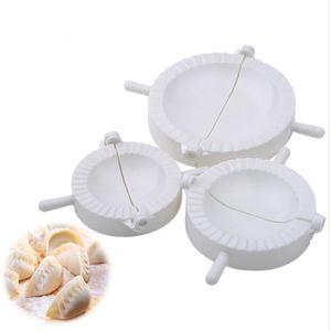 1 conjunto / 3 PCS Dumpling Maker Ravioli imprensa massa pastelaria bolinho moldes Empanada molde ferramentas de cozimento bolinho de massa que faz a máquina