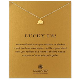 Elephant Thailand Celebrity Style Creative Simple Gold Korean Alloy Clavicle Short Necklace