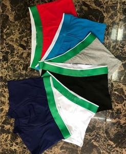 남성 팬티 남성 팬티 고품질 악어 남성의 속옷면 인쇄 속옷 7 색