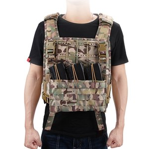 Outdoor Accessory Bag Adjustable Buckled Attachment Pouch Organizer For Vest