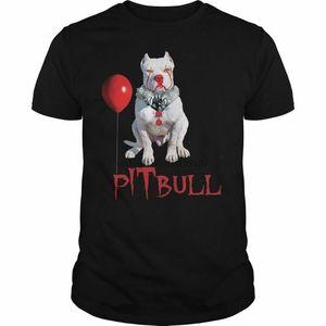 Pitbull Pennywise Shirt Dog Tee Pitbull T-Shirt Mens Shirt Made in USA